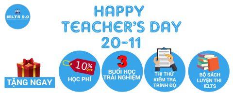 IELTS 9.0 tri ân ngày Nhà giáo Việt Nam