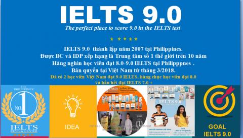 IELTS 9.0 – HỌC KHÔNG GIỚI HẠN