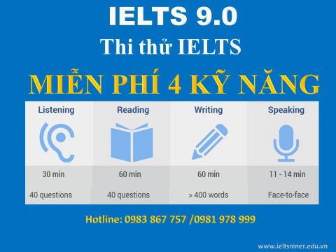 Vì sao nên thi thử IELTS ngay từ bây giờ?