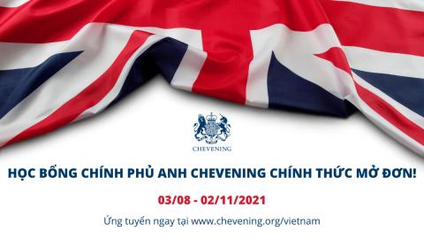 Học Bổng Chính Phủ Anh Chevening – Hỗ trợ Phát triển Thế hệ Lãnh đạo Tương lai của Việt Nam